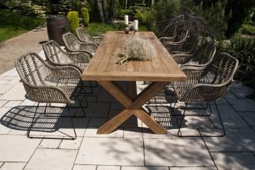 patio meble ogrodowe: Meble ogrodowe LYON X