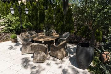 patio meble ogrodowe: Meble ogrodowe BORDEAUX V