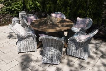 patio meble ogrodowe: Meble ogrodowe BORDEAUX VI
