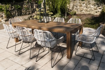 patio meble ogrodowe: Meble ogrodowe NIMES VI
