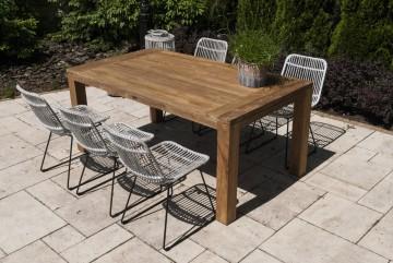 patio meble ogrodowe: Meble ogrodowe NIMES IX