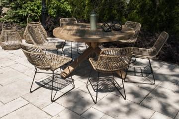 patio meble ogrodowe: Meble ogrodowe BORDEAUX VIII