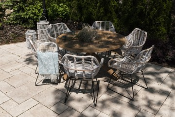 patio meble ogrodowe: Meble ogrodowe BORDEAUX IX