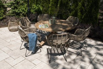 zestaw mebli do ogrodu: Meble ogrodowe BORDEAUX X