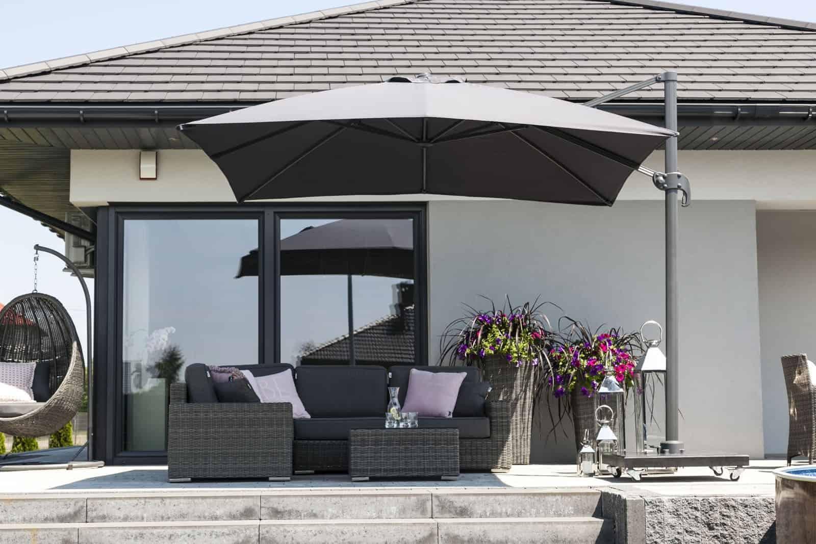 Stojak pod parasol ogrodowy Solarflex