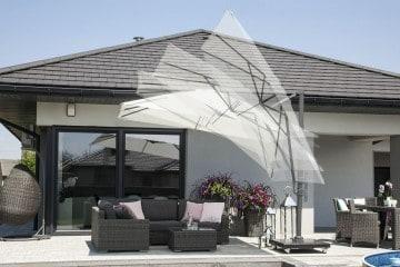 Parasol ogrodowy SolarFlex T¹ 3m x 3m