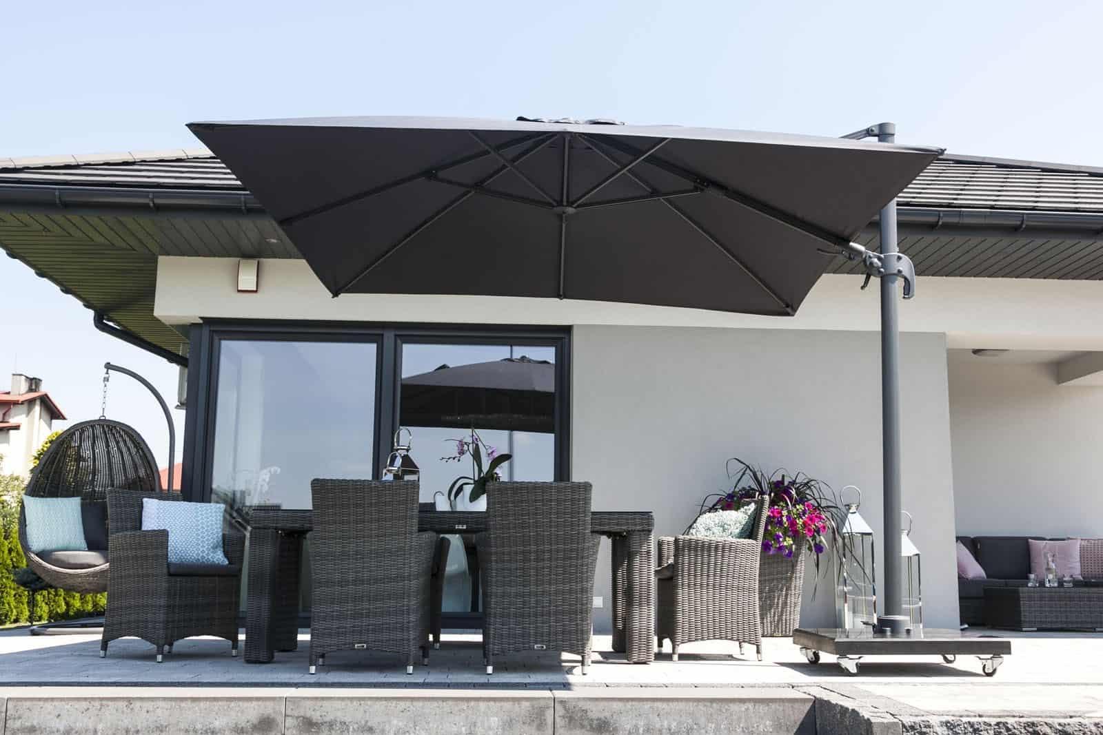 Parasol ogrodowy Solarflex T² 3 x 3