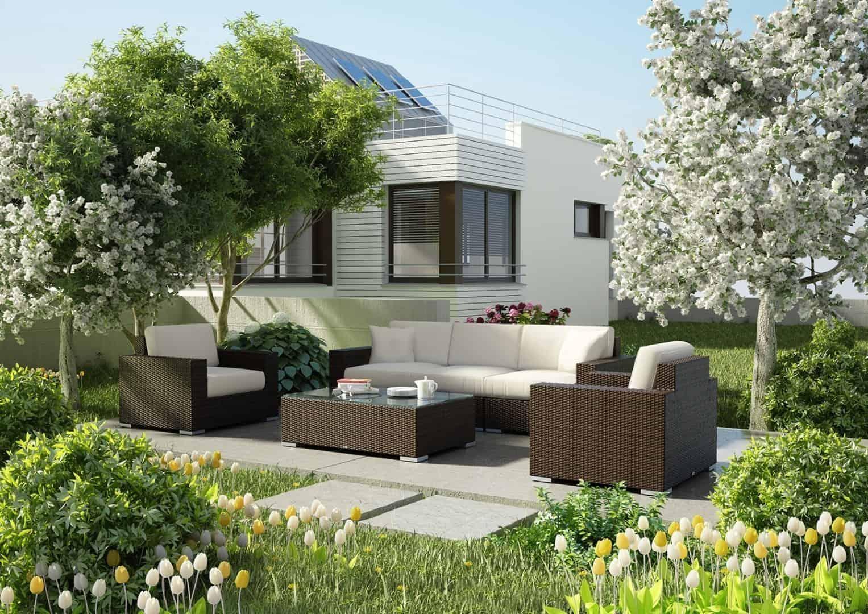 Meble ogrodowe MILANO 6  Modern brąz