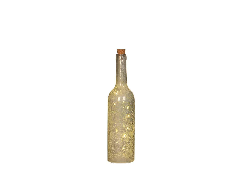 Butelka biała 5 LED
