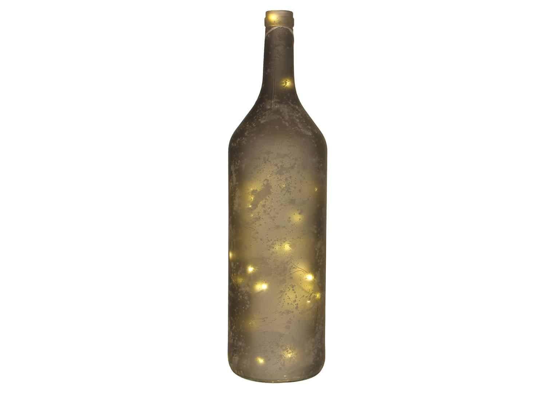 Butelka szara 40 LED