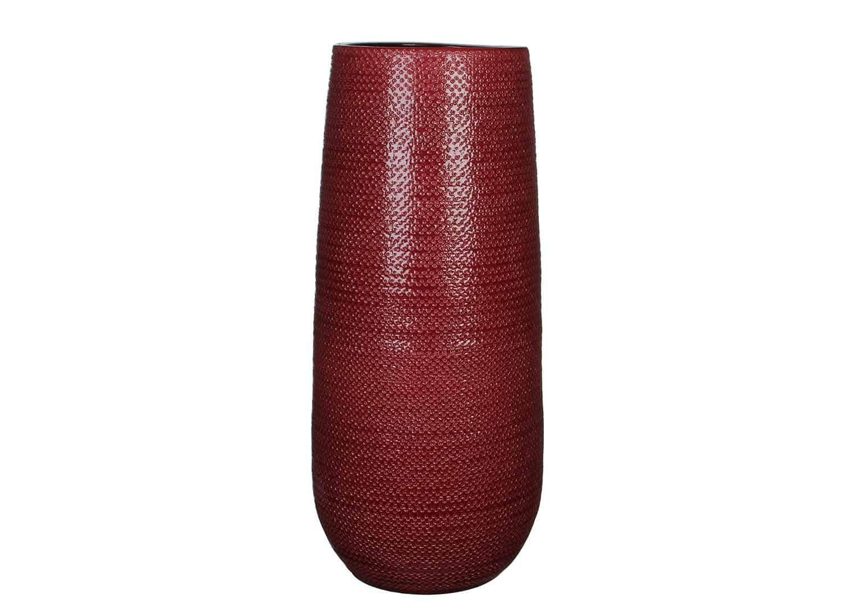 Naczynie ceramiczne czerwone 60cm