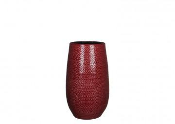 Naczynie ceramiczne czerwone 35cm