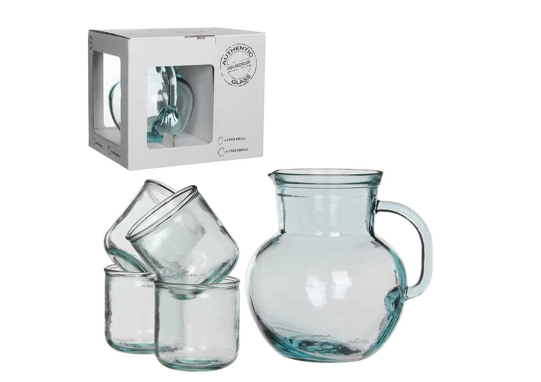 Zestaw dzbanek + 5 szklanek