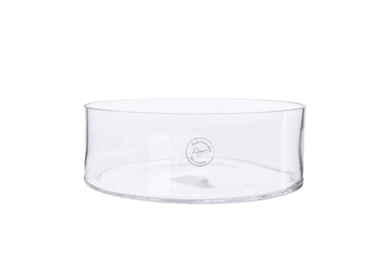 Okrągłe naczynie szklane 34cm