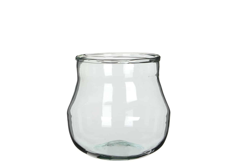 Waza szklana 18,5cm