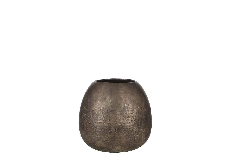 Naczynie ceramiczne srebrne 28,5cm