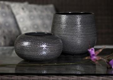 Misa ceramiczna ⌀23cm szara