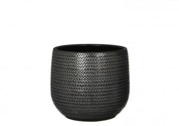 Naczynie ceramiczne ⌀25cm szare