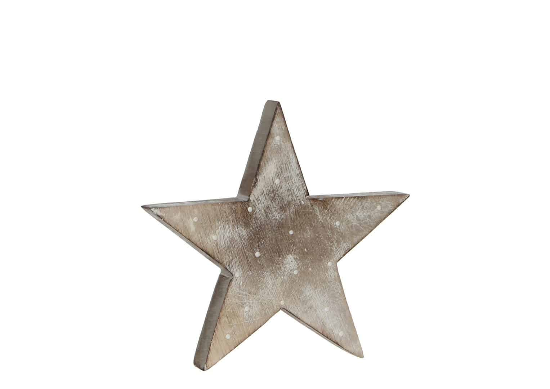 Gwiazda dekoracyjna biała