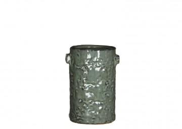 Naczynie ceramiczne szare 15cm