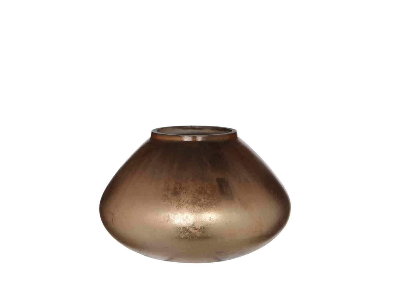 Świecznik brązowy 10cm