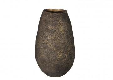 Waza ceramiczna brązowa 40cm