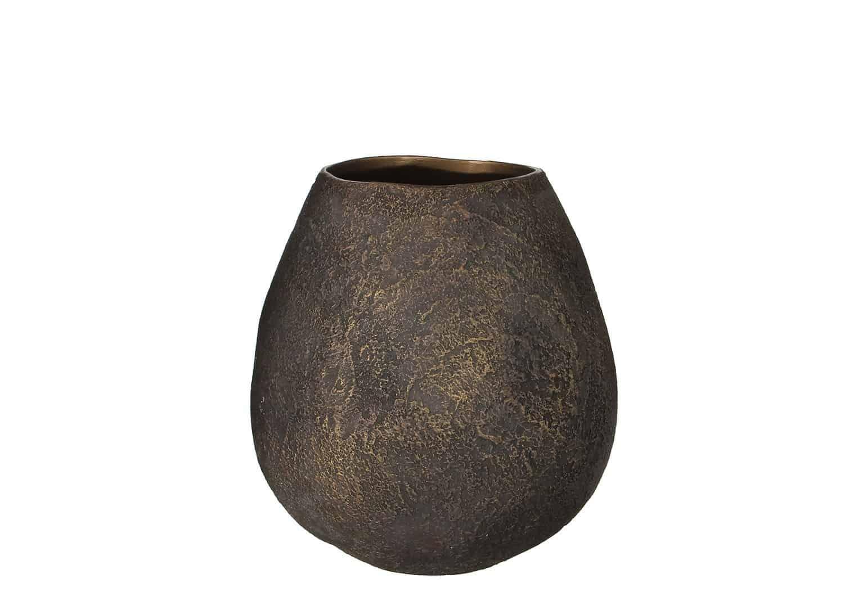 Waza ceramiczna brązowa 29cm