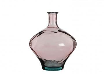 Naczynie/butelka różowa 46cm