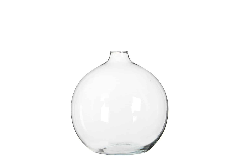 Wazon szklany 23cm przezroczysty