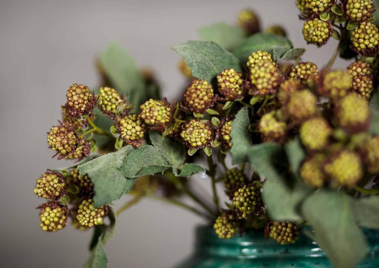 Waza z terakoty zielona ⌀22,5cm