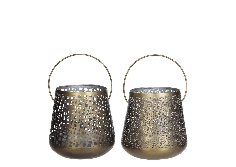 Tealight złoty 13,5cm