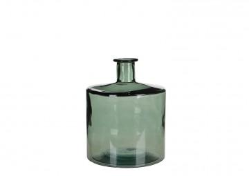 Butelka/naczynie szklane szare 26cm
