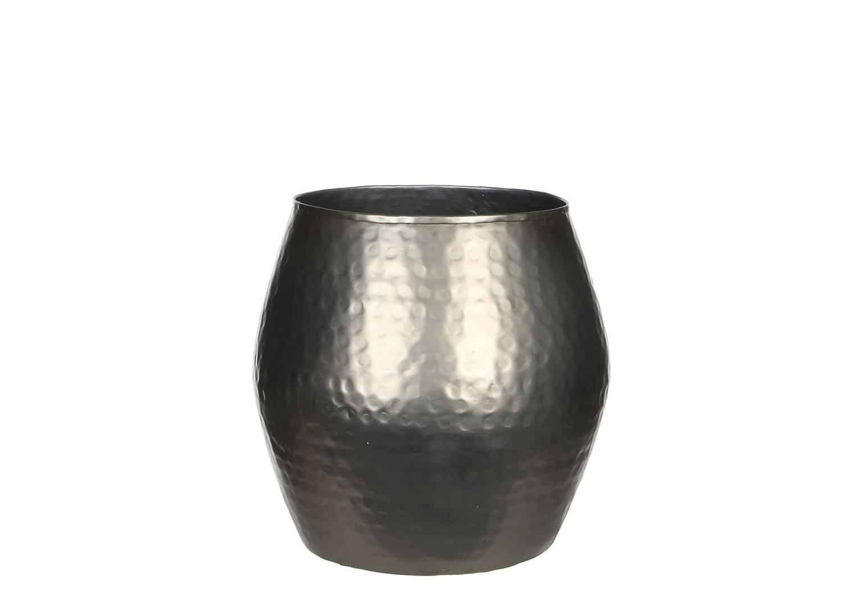 Naczynie stalowe srebrne 20cm