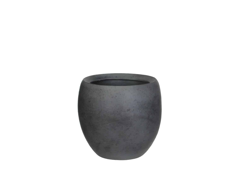 Naczynie z terakoty szare 20cm