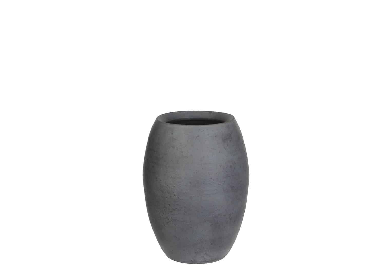 Naczynie z terakoty szare 25cm