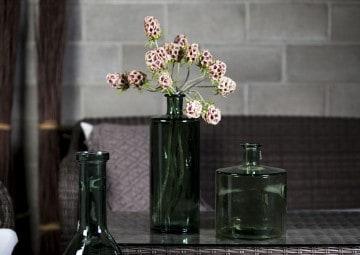 Butelka/naczynie szklane szare 75cm