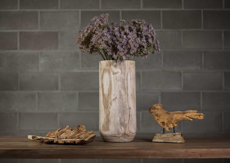 Rzeźba drewniana ptak