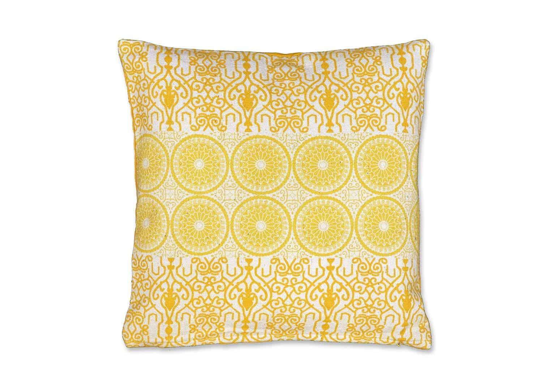Poduszka dekoracyjna Kai złoty blask 45cm