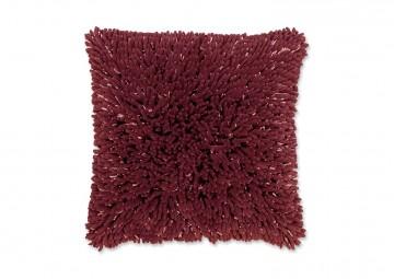 Poduszka dekoracyjna Liv czerwona różana 45cm