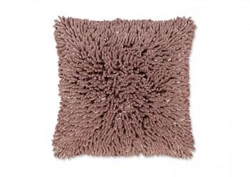 Poduszka dekoracyjna Liv różowa vintage 45cm