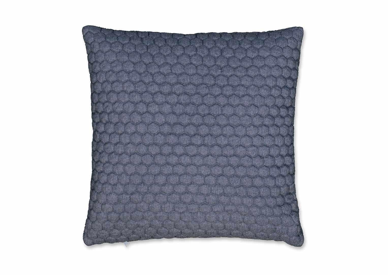 Poduszka dekoracyjna Honey niebieska 45cm