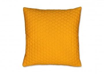 Poduszka dekoracyjna Honey złoty blask 45cm