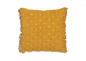 Poduszka dekoracyjna Dori złoty blask 45cm