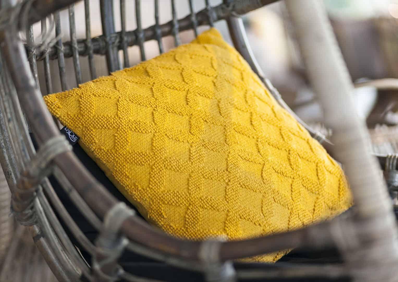 Poduszka dekoracyjna Gio złoty blask 45cm