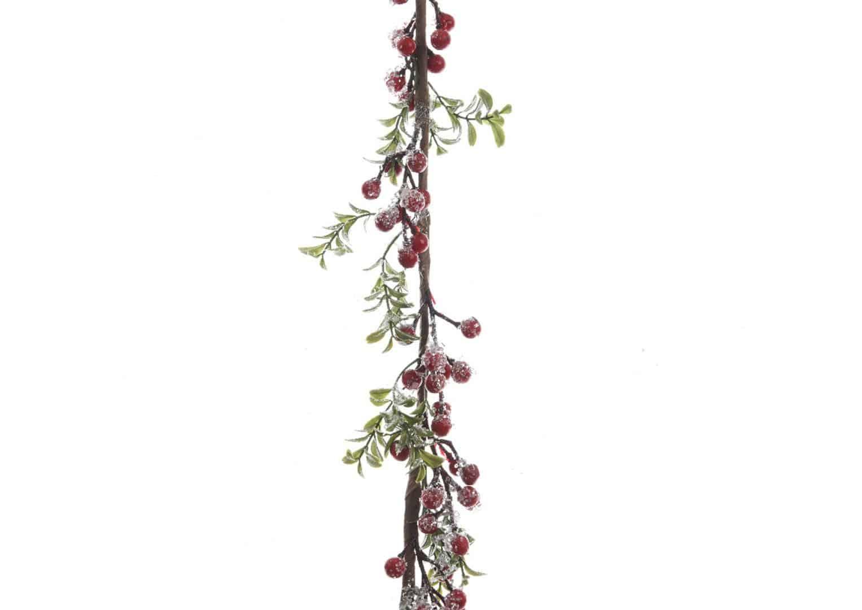 Girlanda z czerwonej jeżyny