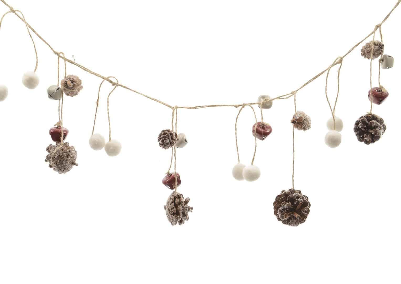 Girlanda świąteczna z dzwoneczkami II