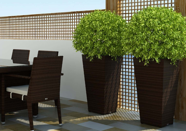 Donice Wysokie Ogrodowe Sklep Internetowy Garden Space