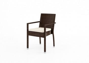Krzesło ogrodowe MONA Modern brąz