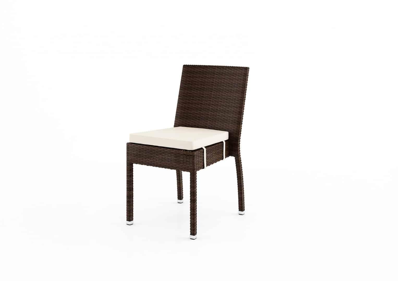 Krzesło ogrodowe MINA Modern brąz