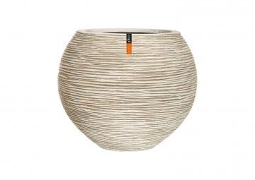 ekskluzywne meble: Donica ogrodowa z cementu OFI271 48cm